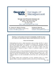 georgia file in securitization