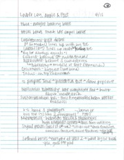 Notes 4-11-12 Lower leg, ankle and foot