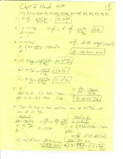 Chap. 2 Hmwk Solutions by Winter