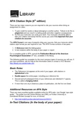 APA Citiation Style Guide_6th Ed