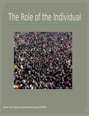 The+role+of+the+individual.pptx