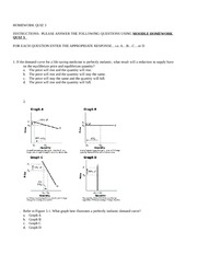 quiz questions on price elasticity of Tax incidence and elasticity quiz the demand and supply conditions for rump-fed ronyons are as given in question 12 the price elasticity of supply for ronyons.