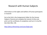 Research+with+human+subjects
