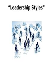 Leadership Styles.ppt