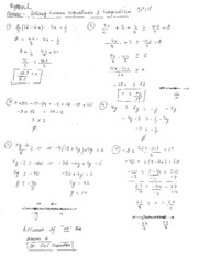 inequality solving notes
