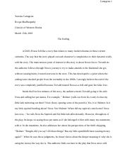 A Doll's House Response Paper.docx