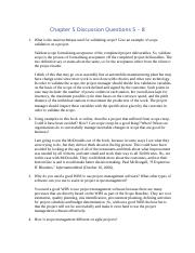 week3-assignment2-Chapter 5 Discussion Questions 5.docx