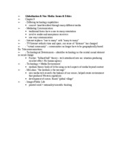 global review sheet