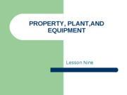 225property,plant,and equipment