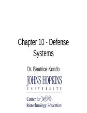 9 - Defense Systems Ch10.ppt