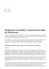 reading-the-unreadable-communication-skills-for-pharmacists.php