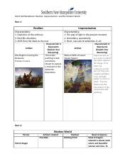 Hum 100 Worksheet Realism Impressionism And The Modern World 1 Docx Hum 100 Worksheet Realism Impressionism And The Modern World Part 1 Realism Course Hero