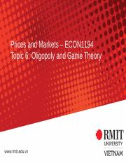 Topic 6 Oligopoly _ Game Theory.pptx