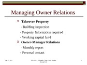 REM 4111_Lecture _ owner relations mgt