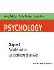 Chapter 2 - Part I - The genetic roots of behavior.ppt