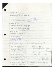 Stoichiometric Calculations Assignments p3