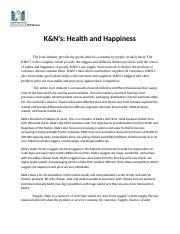 k&n chicken case study