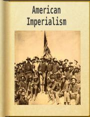 American Imperialism and WWI