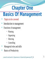 Chapter 1-Basics of mngt modified