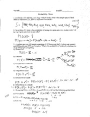 statistics probability and probablity disturbitions Statistics probability and probablity disturbitions  advanced international certificate of education mathematics statistics paper 6 probability .