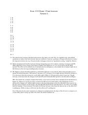Econ 1210 Midterm 1 Answers