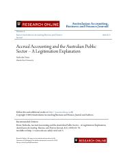 Accrual Accounting and the Australian Public Sector.pdf