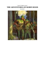 Treasury of Children's Classics The Adventures Of Robin Hood