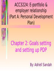 2. Goals setting and setting up PDPxxx.ppt