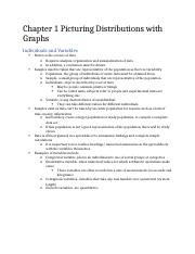Chapter 1 Picturing Distributions with Graphs