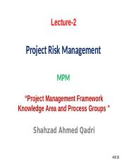 Lecture - 3 (Project Framework).pptx