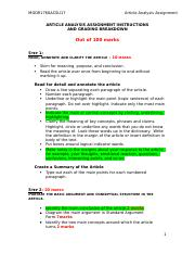 Final Article Analysis Assignment Instructions.docx
