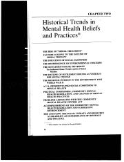 Historical Trends--from Heller et al. 1984