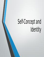 11.Self-Concept and Identity