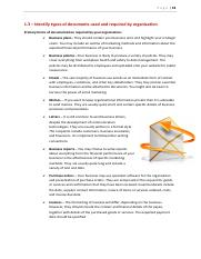 1 Identify Types Of Documents Used And Required By Organisation.pdf