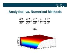 4. Analytical vs. Numerical methods