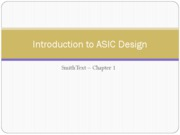Lecture 1 - ASIC Technologies