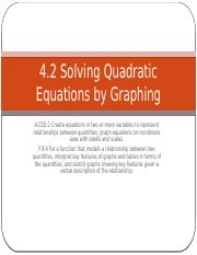 4_2_Solving_Quadratics_by_Graphing