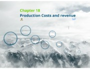Chapter 18 - Production costs and revenue