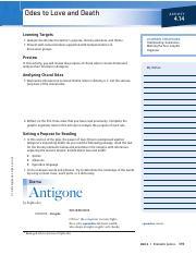 figurative language in antigone
