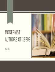 Modernist Authors of 1920s.pptx