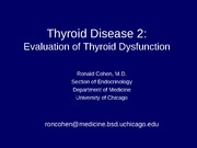 Thyroid Disease 2 (2011)