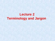 Lecture2Terminology