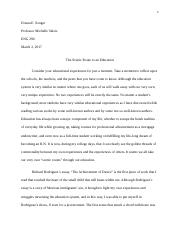 Donna Songer Essay One Final Copy