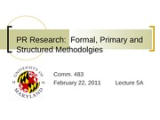 L5A PPT on Research