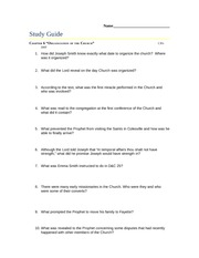 6. Organization of the Church Study Guide