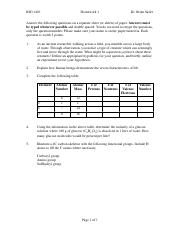 Homework2Key - BIO 1410 Homework#2 Answer Key 1 PROKARYOTIC ...