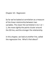 Stat 2 chapter 10 and 12 notes