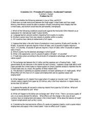 problem set principles of macroeconomics 1402 principles of macroeconomics problem set 1 solution fall 2004 part i true/false/uncertain justify your answer with a short argument 1.