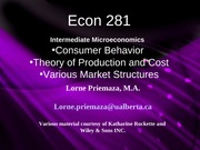 Econ 281 Chapter1