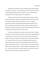 a leader i admire a leader i admire wilma rudolph shona smith  2 pages leadership essay